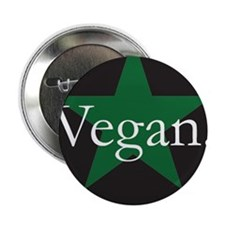 "Go Vegan Save Lives 2.25"" Button"
