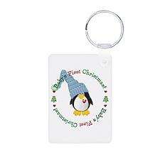 #2 Penguin 1st Christmas Keychains