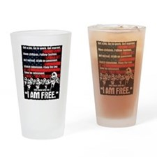 United States of Conformity Drinking Glass