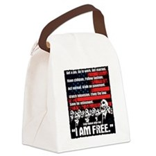 United States of Conformity Canvas Lunch Bag