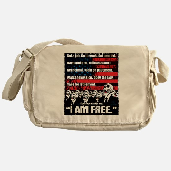 United States of Conformity Messenger Bag