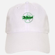 Atheist Green Baseball Baseball Cap