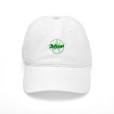 Atheist Green Baseball Cap