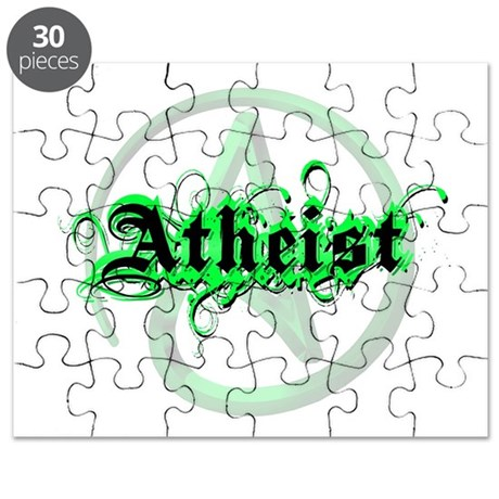 Atheist Green Puzzle