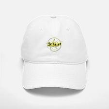 Atheist Yellow Baseball Baseball Cap