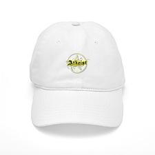 Atheist Yellow Baseball Cap