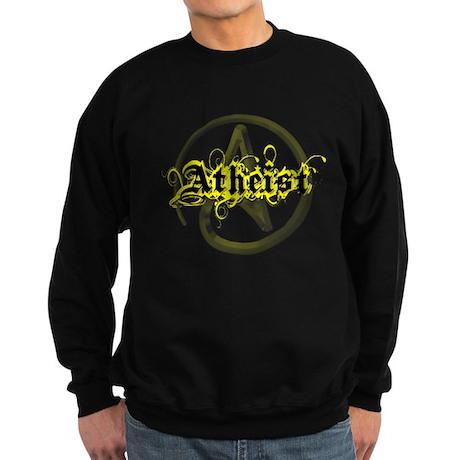 Atheist Yellow Sweatshirt (dark)