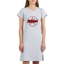 Atheist Red Women's Nightshirt