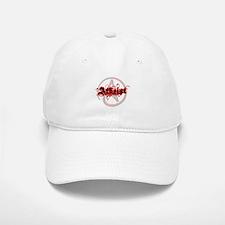 Atheist Red Baseball Baseball Cap