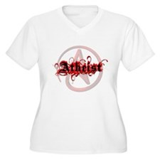 Atheist Red T-Shirt