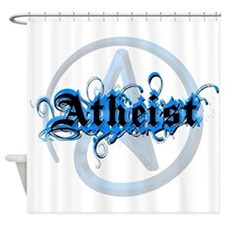 Atheist Blues Shower Curtain