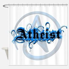 Atheist Blues Shower Curtain