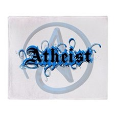 Atheist Blues Throw Blanket