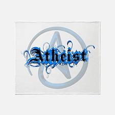 Atheist Blues Throw Blanket