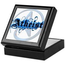 Atheist Blues Keepsake Box