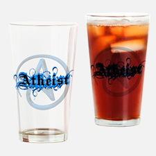 Atheist Blues Drinking Glass