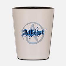 Atheist Blues Shot Glass