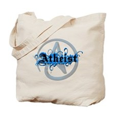 Atheist Blues Tote Bag