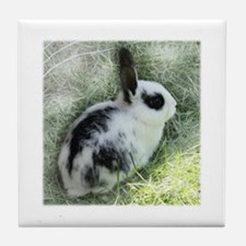 Cute Bunny Tile Coaster