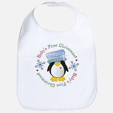 #5 Penguin 1st Christmas Bib