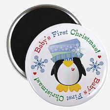 #5 Penguin 1st Christmas Magnet