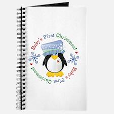 #5 Penguin 1st Christmas Journal