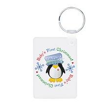 #5 Penguin 1st Christmas Keychains