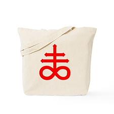 Hermetic Alchemical Cross Tote Bag