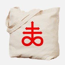 Hermetic Alchemical Cross Tote Bag