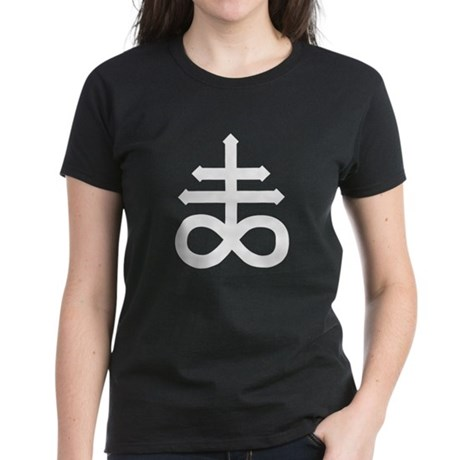 Hermetic Alchemical Cross Women's Dark T-Shirt
