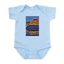 Eilean Donan Castle HDR 314 Infant Bodysuit