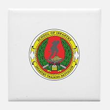 USMC School of Infantry Tile Coaster