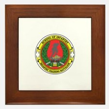 USMC School of Infantry Framed Tile