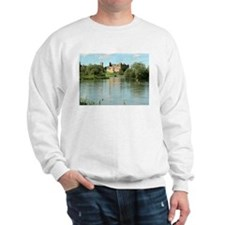 Linlithgow Palace and Loch 1371 Sweatshirt
