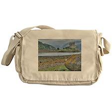 Eilean Donan Castle HDR 198 Messenger Bag