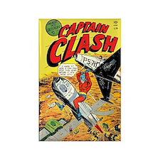 Captain Clash #1 Rectangle Magnet