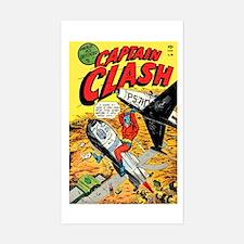 Captain Clash #1 Sticker (Rectangle)