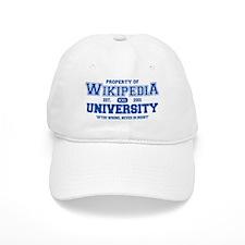 Wikipedia University Baseball Cap
