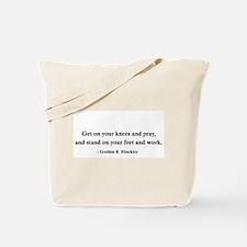 Gordon B. Hinckley's Advice Tote Bag