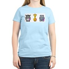 breast cancer cartoon animalslrg.png T-Shirt