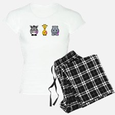 breast cancer cartoon animalslrg.png Pajamas