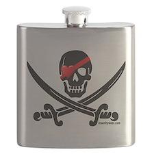 Pirate Love Flask