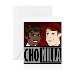 Chonilla (Cho Nilla) Greeting Card