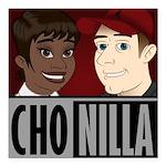 Chonilla (Cho Nilla) Square Car Magnet 3