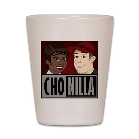 Chonilla (Cho Nilla) Shot Glass