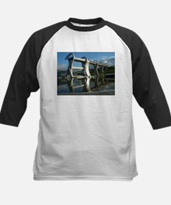 Falkirk Wheel 83 Kids Baseball Jersey