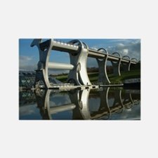 Falkirk Wheel 83 Rectangle Magnet