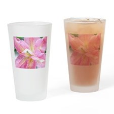 Asiatic lily 255 Drinking Glass