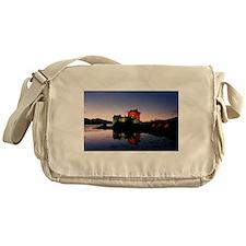 Eilean Donan castle three Messenger Bag