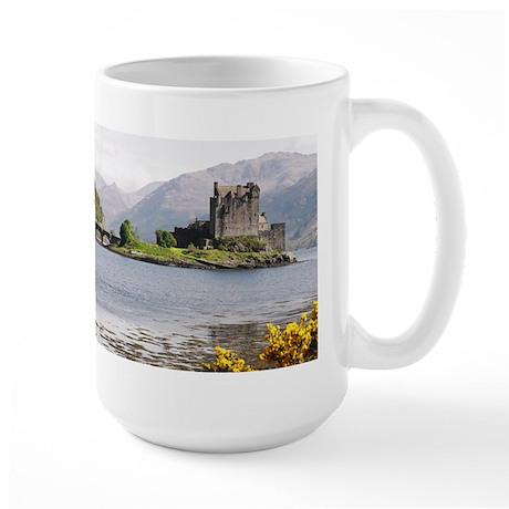 Eilean Donan Castle 4815 Scotland Large Mug By Listing
